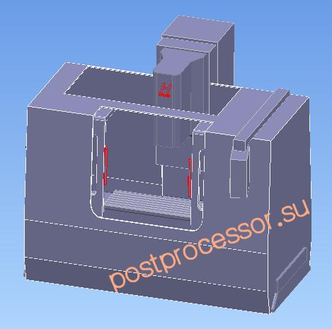 3D machine tools models